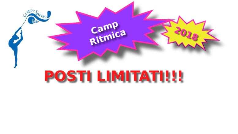 camp ritmica 2018